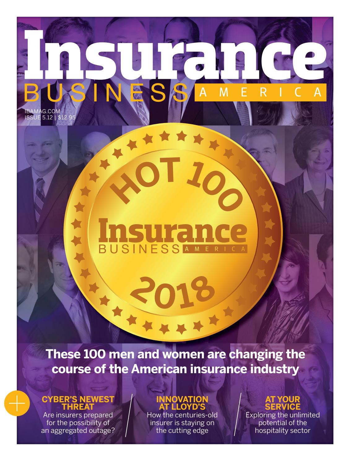 Insurance Business America Issue 5 12 By Key Media Issuu