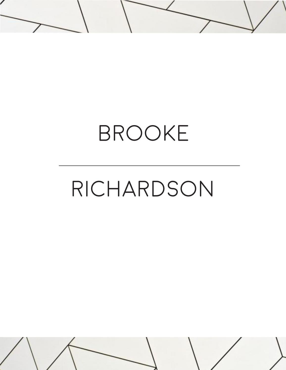 brookeminiportfolio by brooke richardson