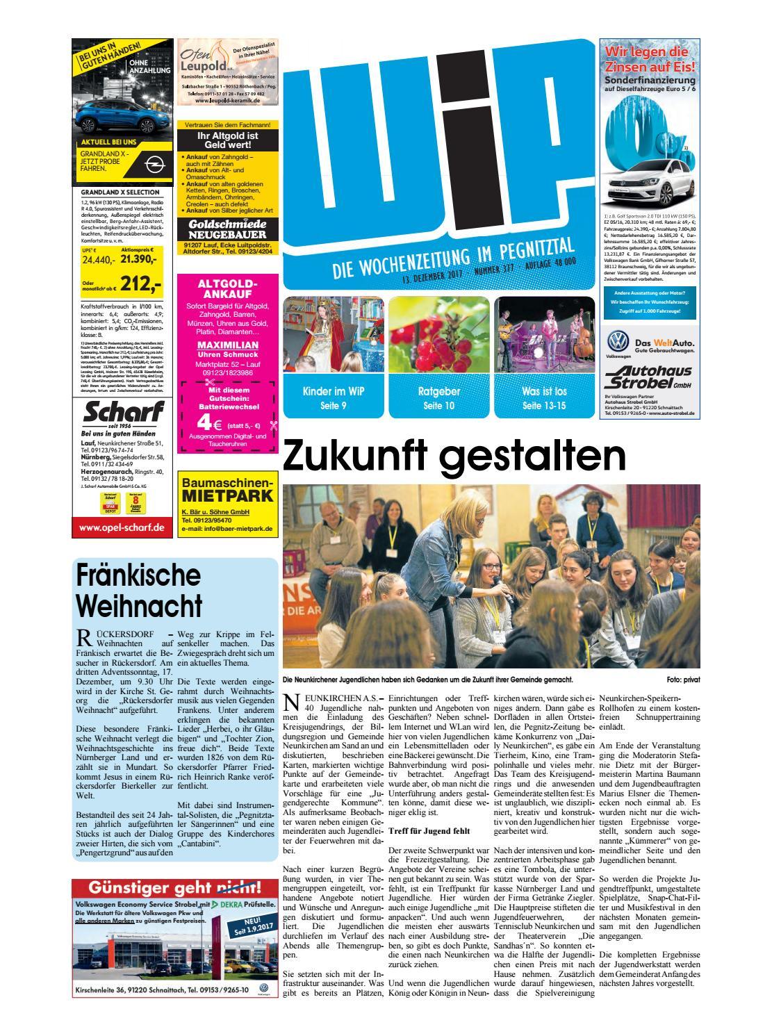 WiP 13.12.2017 by Pfeiffer Medienfabrik GmbH & Co. KG - issuu