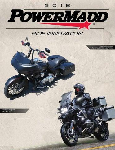 Powermadd Star Series Handguards Guards Tri Mount Black Black  ATV Honda