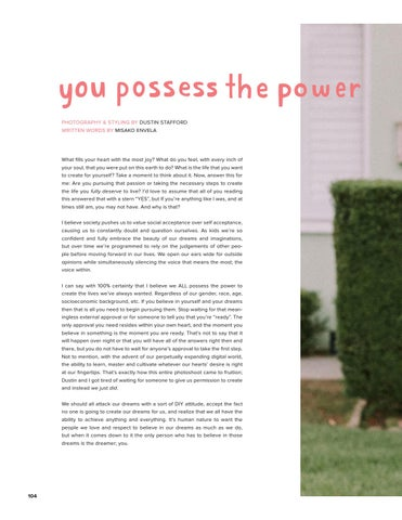 Page 104 of You Possess the Power