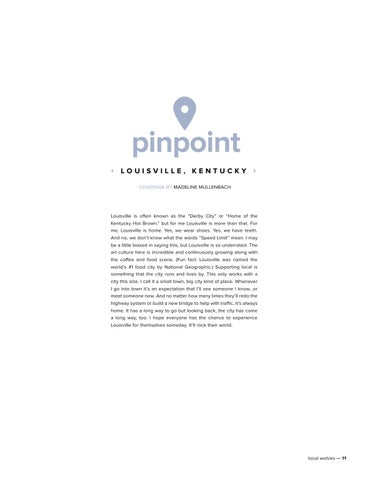 Page 11 of Pinpoint: Louisville, Kentucky