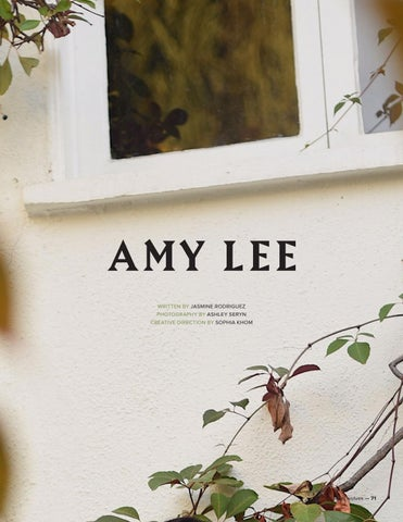 Local Wolves Issue 52 Amy Lee By Local Wolves Issuu