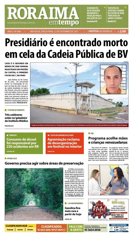 3479c90325aec Jornal roraima em tempo – edição 806 by RoraimaEmTempo - issuu