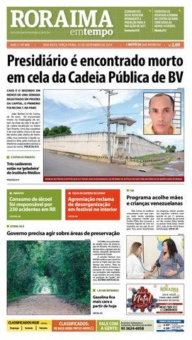 ccf2a6a7e6 Jornal roraima em tempo – edição 806 by RoraimaEmTempo - issuu