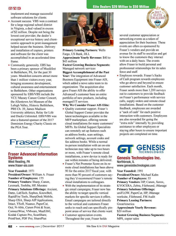 ENX December 2017 Elite Dealer Issue by ENX Magazine - issuu