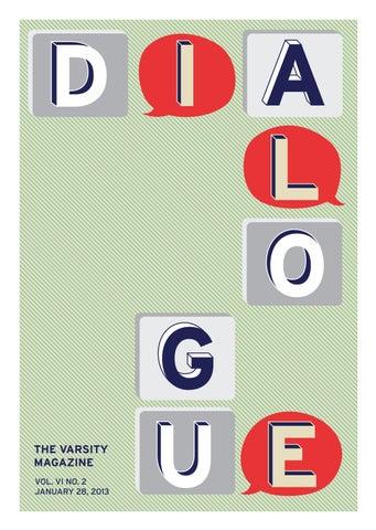 The Varsity Magazine: Dialogue by The Varsity - issuu