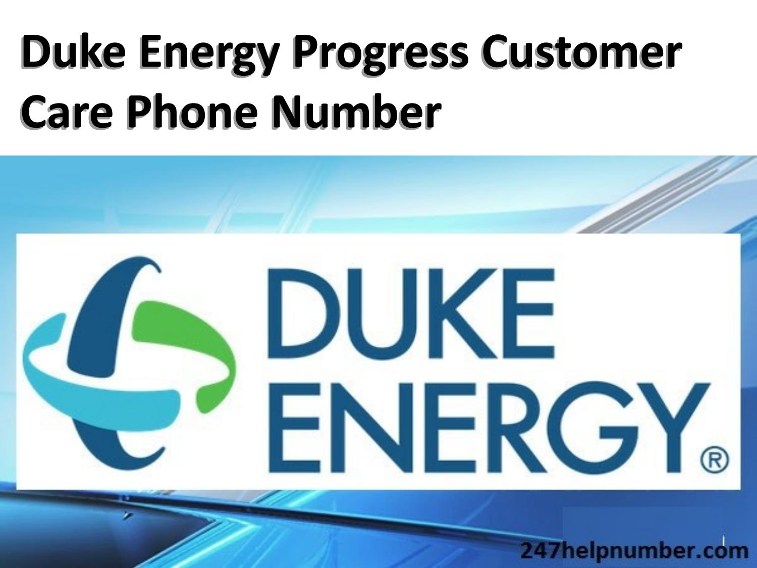 Duke energy customer servic support care toll free phone number by Anna  Huddle - issuu