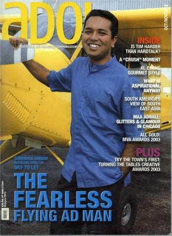 adoi malaysia 2003 october november issue by sledgehammer