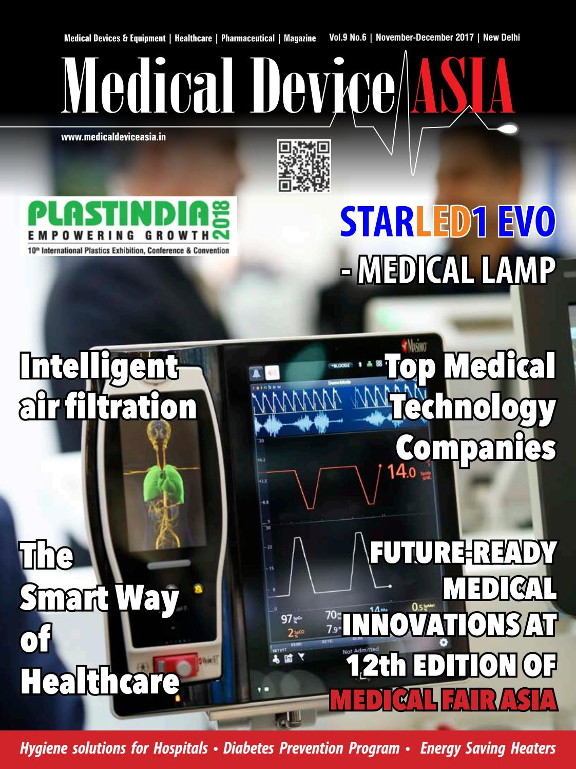 Medical Device Asia Nov-Dec 2017 by Worldwide Publications