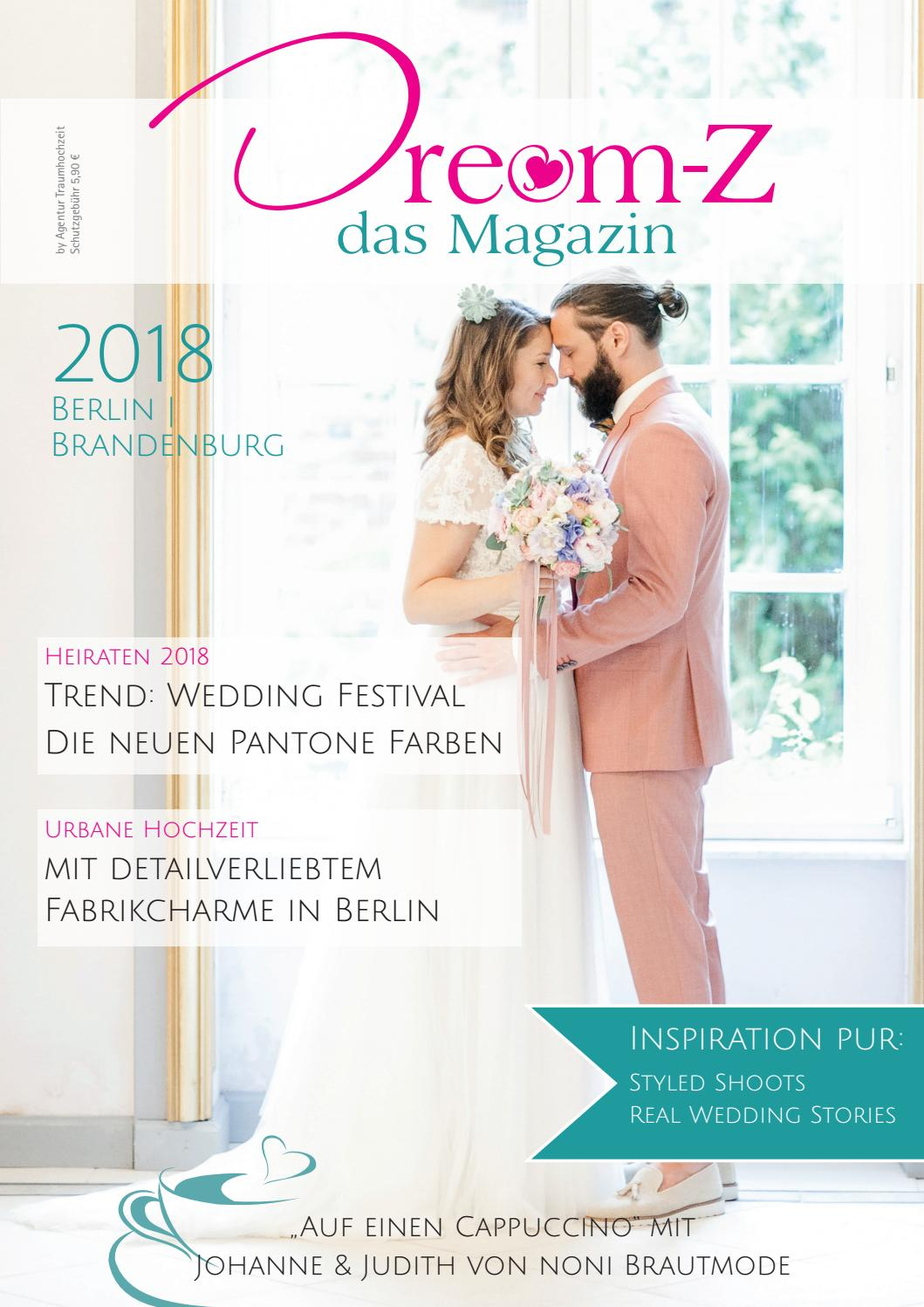 Dream-Z das Magazin 2018 BERLIN by agentur-traumhochzeit - issuu