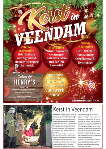 Kerstbijlage Veendammer 2017 By Ndc Mediagroep Issuu