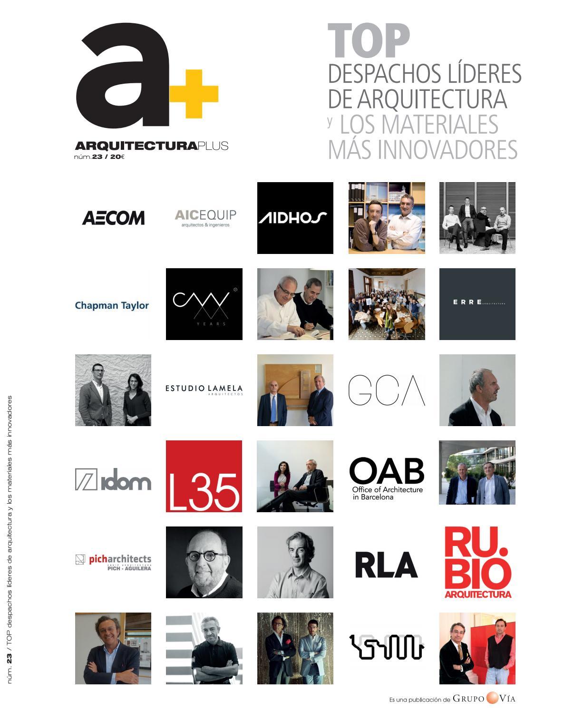 Arquitectura plus 23 by grupo v a issuu - Despachos de arquitectura en barcelona ...