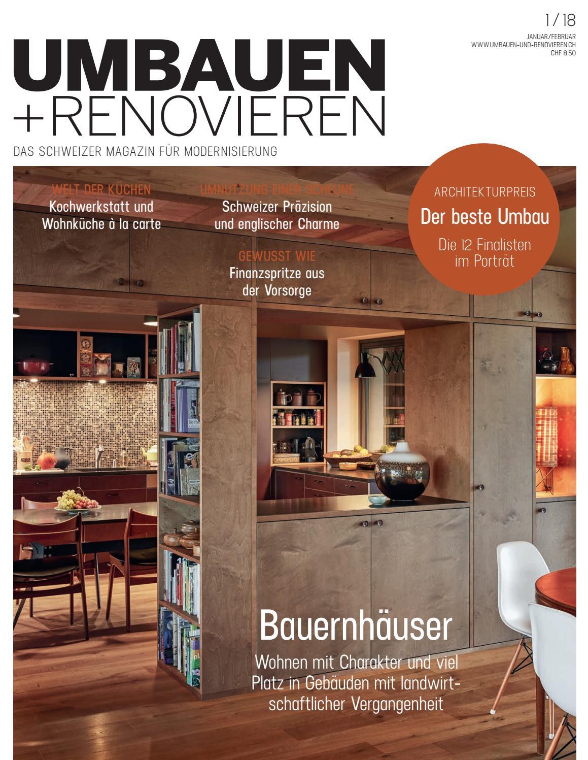 UMBAUEN+RENOVIEREN 01/2018 by Archithema Verlag - issuu