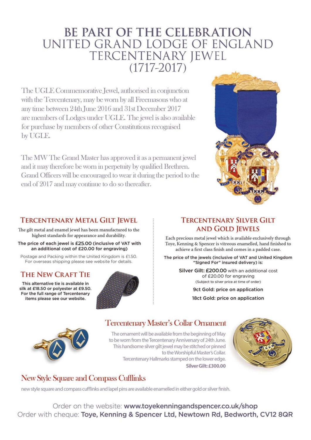 Freemasonry Today - Winter 2017 - Issue 40 by UGLE - issuu