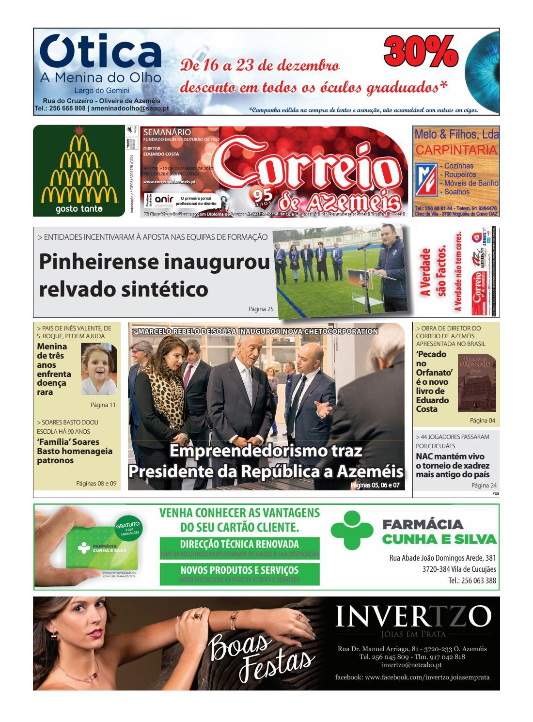 12 12 2017 by Correio de Azeméis - issuu 69abc1de5d20c