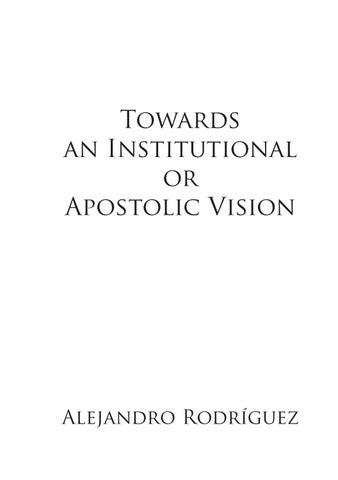 Towards an Institutional or Apostolic vision by YWAM Norway
