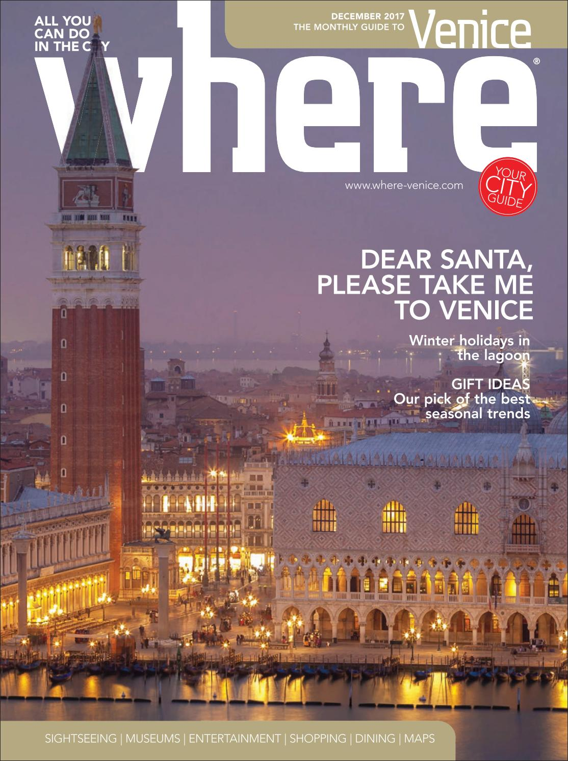 Where Magazine Venice Dec 2017 By Morris Media Network Issuu