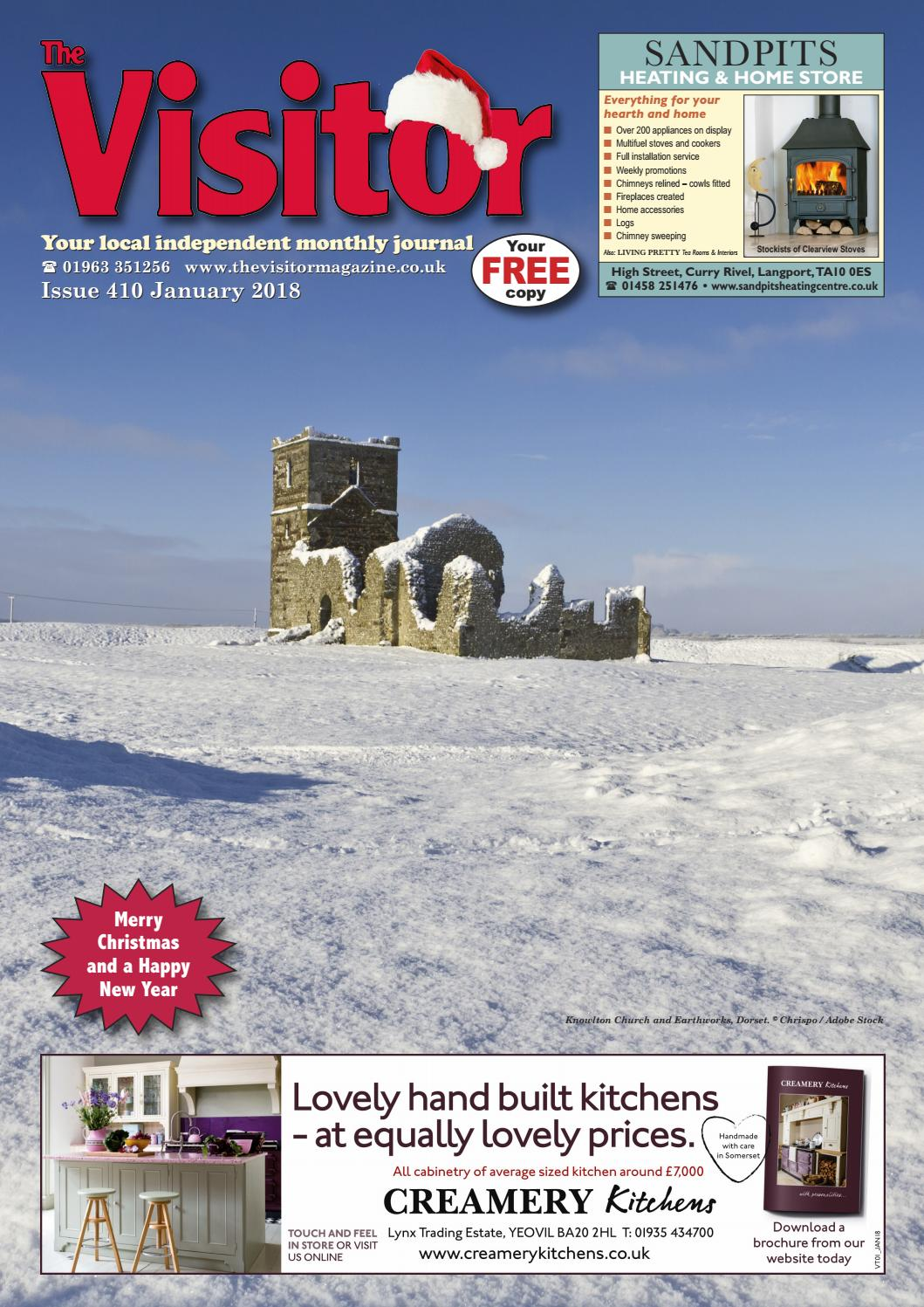 The Visitor Magazine Issue 410 January 2018 by The Visitor