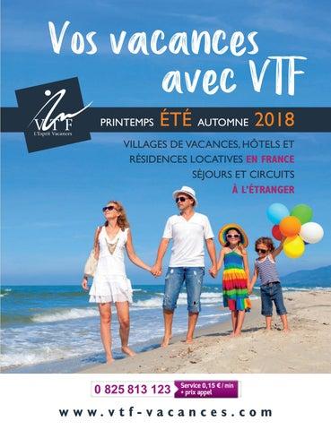 417435719bcf VTF brochure été 2018, vos vacances avec VTF Vacances by VTF L ...