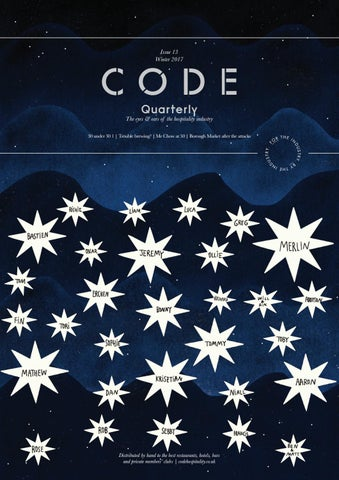 Code Quarterly Issue 13 Winter 2017 By Code Hospitality