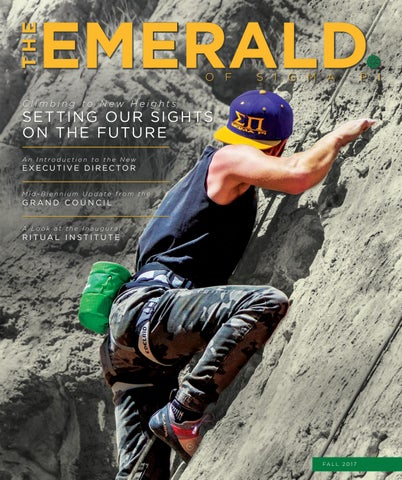 The Emerald Fall 2017 By Sigma Pi Fraternity Issuu