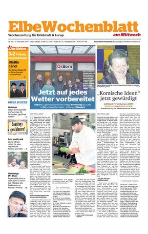 Eidelstedt KW50 2017 by Elbe Wochenblatt Verlagsgesellschaft mbH