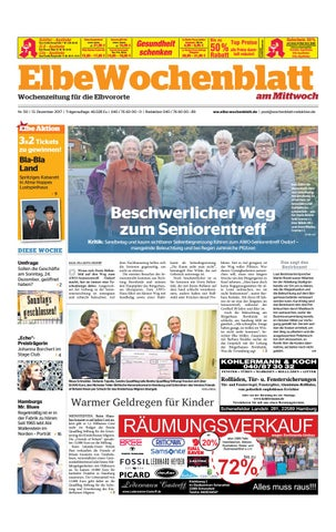 Elbvororte KW50 2017 by Elbe Wochenblatt Verlagsgesellschaft mbH