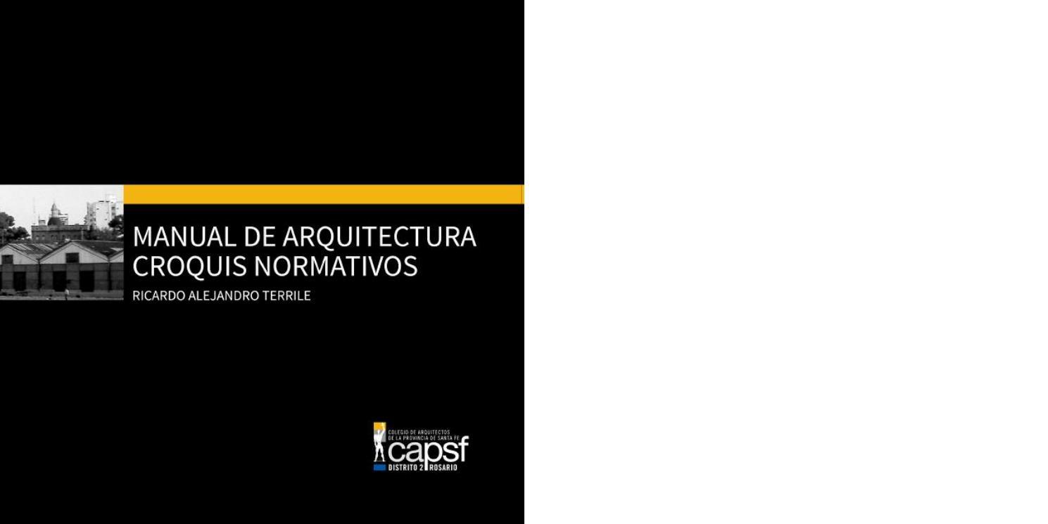 MANUAL DE ARQUITECTURA CROQUIS NORMATIVOS - 2015 by Comunicaciones ...