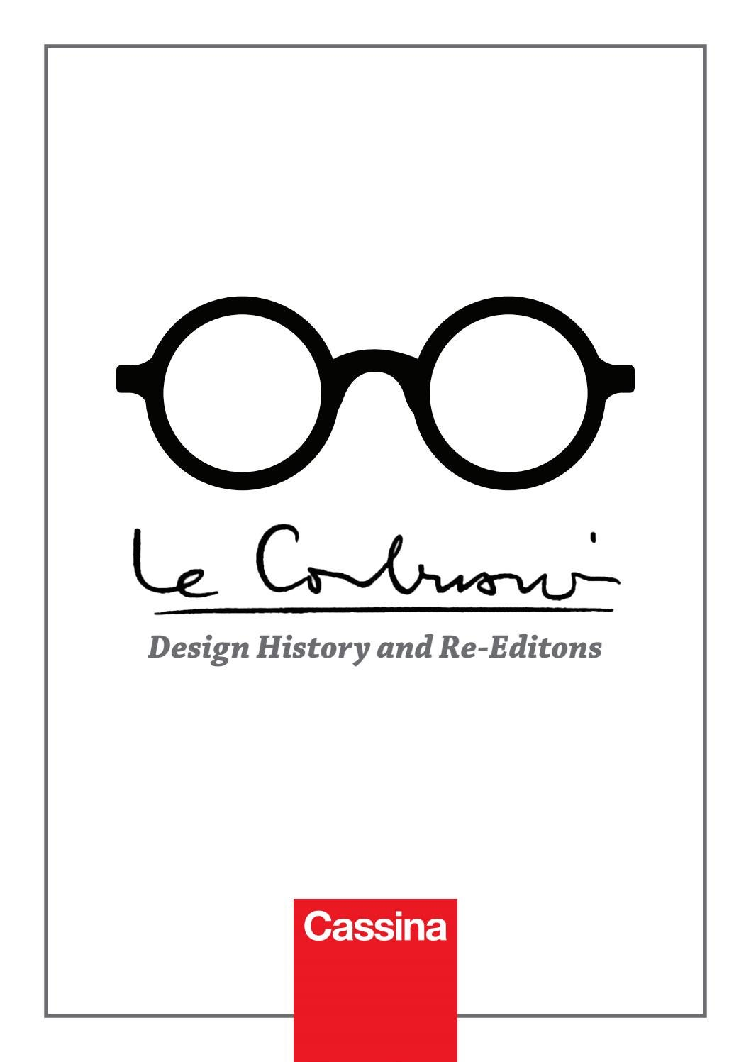 Le Corbusier Design History And Re Editions By Daniela Issuu