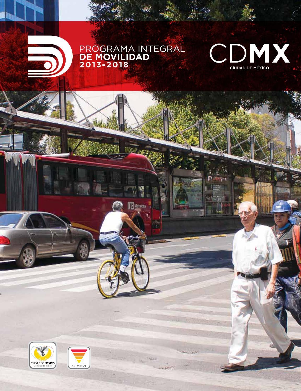 Programa Integral De Movilidad 2013 2018 By Laura