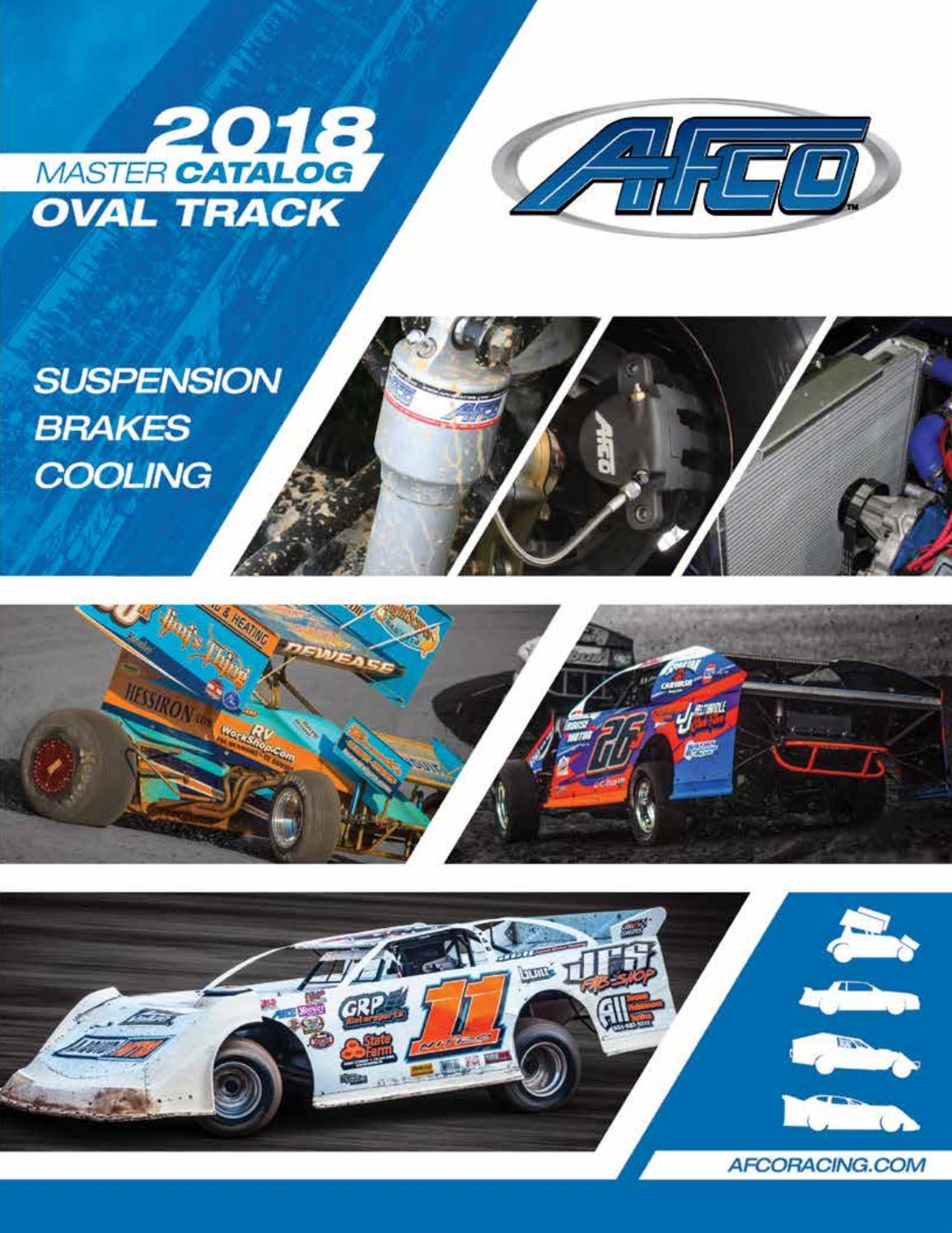 Afco Racing Products 1022 STEEL SHOCK STOCK MOUNT