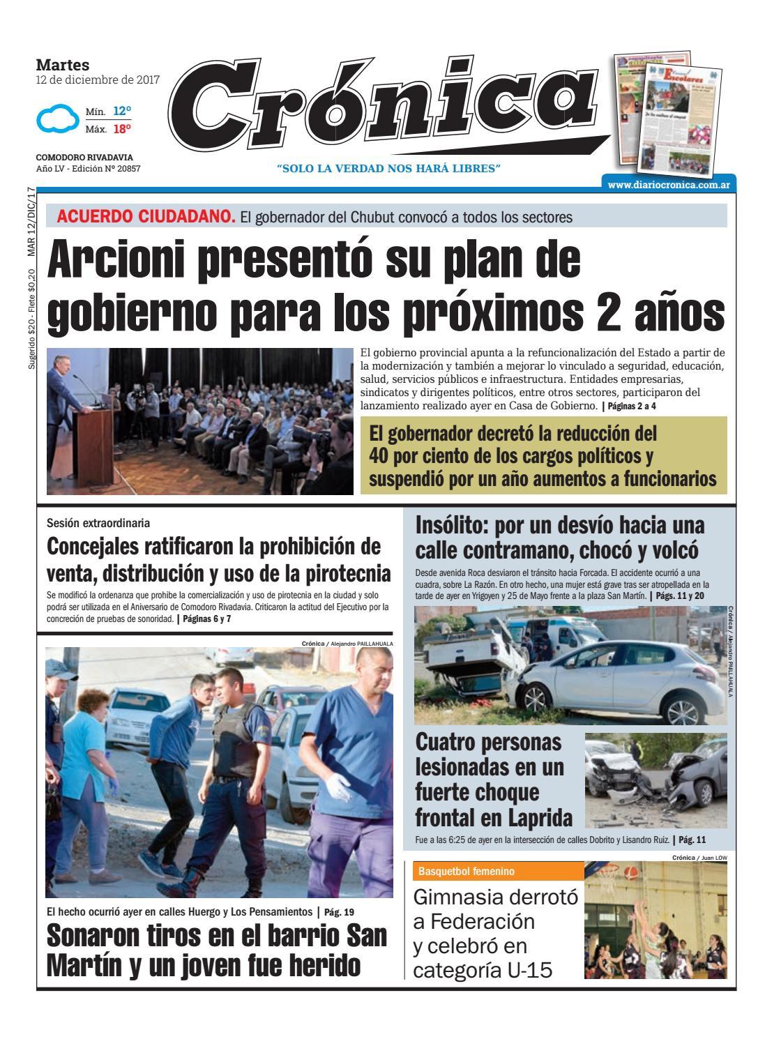 7fa1f0dd3109f4a44890bb20376030aa by Diario Crónica - issuu