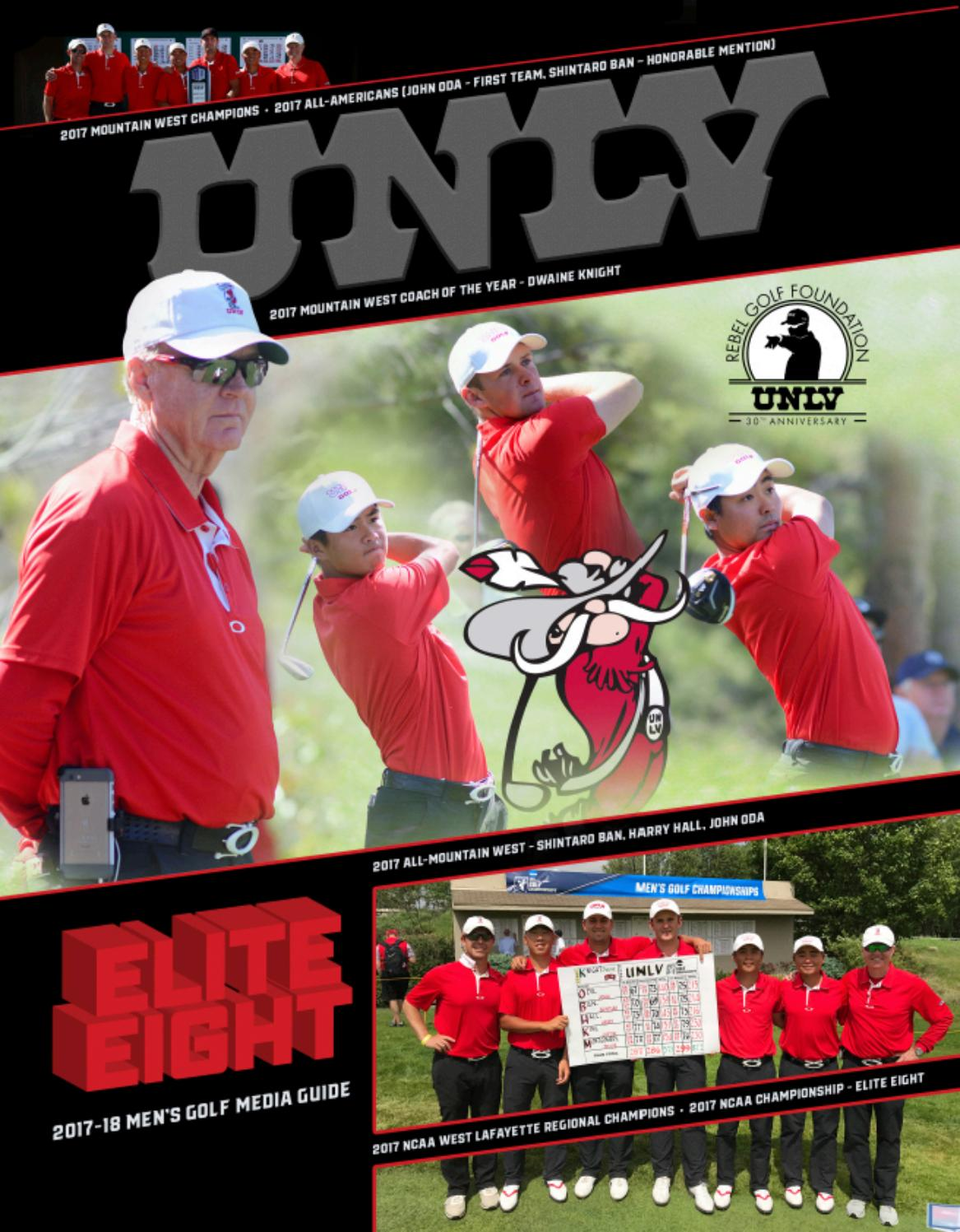 5113887a6834a1 2017-18 UNLV Men s Golf Media Guide by UNLV Sports Information - issuu