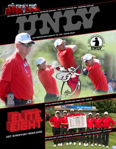 2017-18 UNLV Men's Golf Media Guide