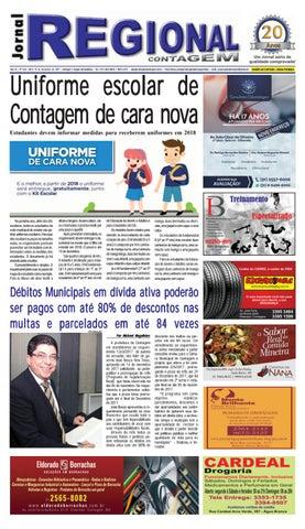 35ac1eefc1 Jornal regional 320 by JORNAL REGIONAL CONTAGEM - issuu