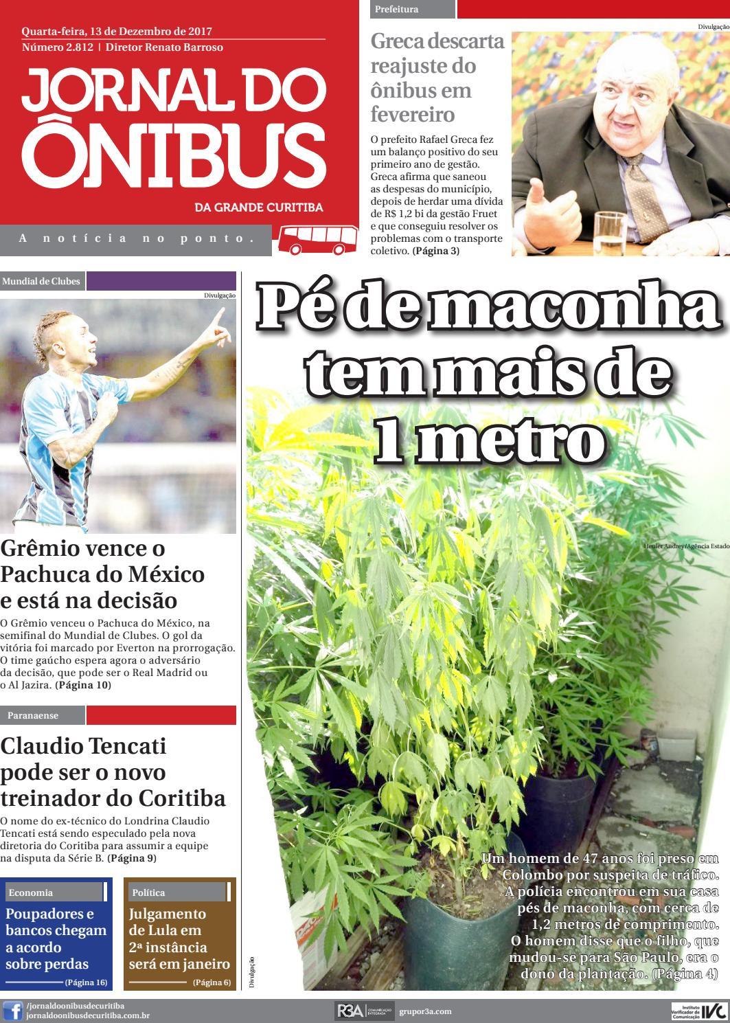 Jornal do Ônibus de Curitiba - 13-12-2017 by Editora Correio Paranaense -  issuu d20aca77b1