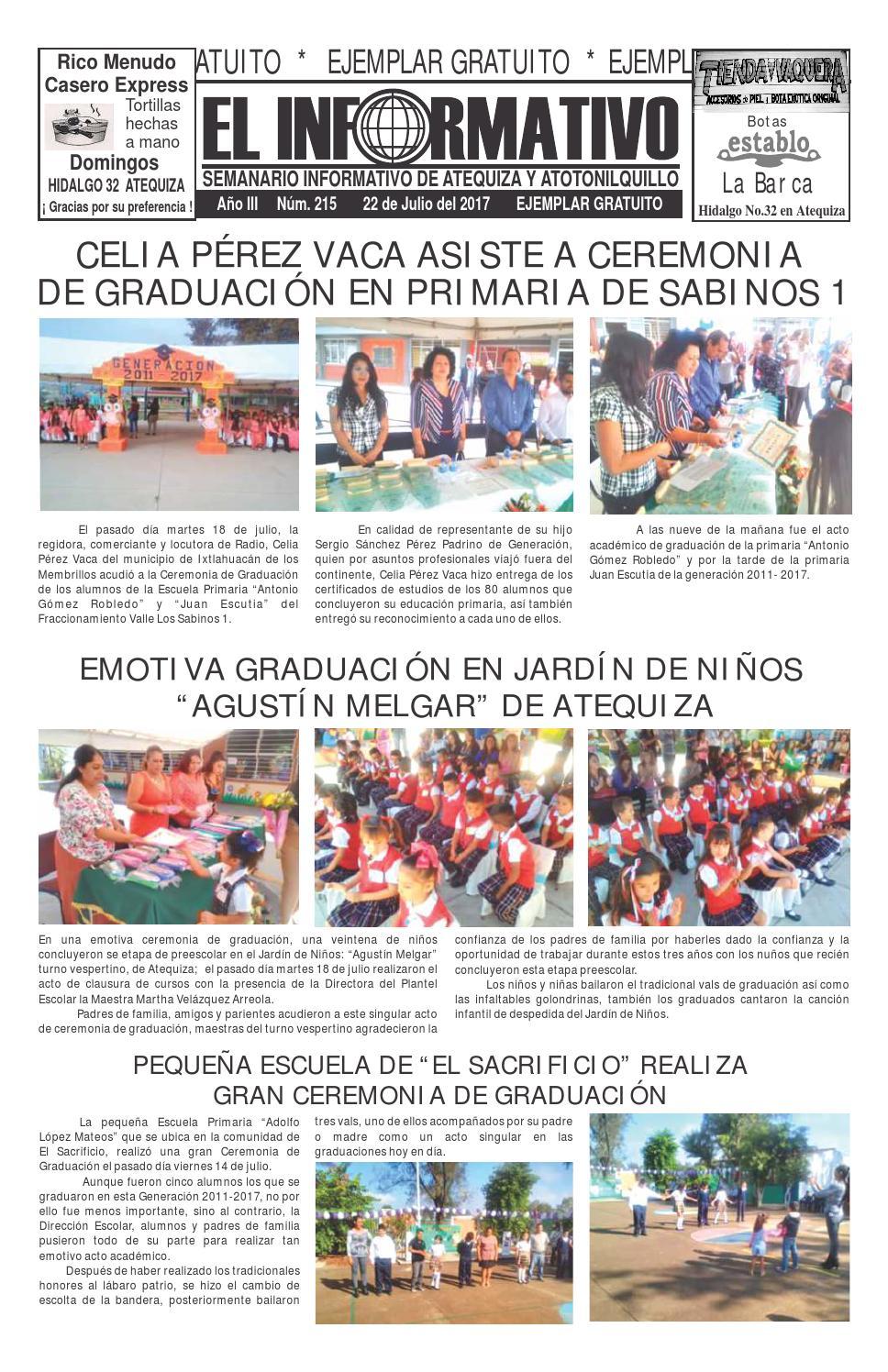 Informativo Atequiza-Atoto 215 by Lehabim Eliezer - issuu