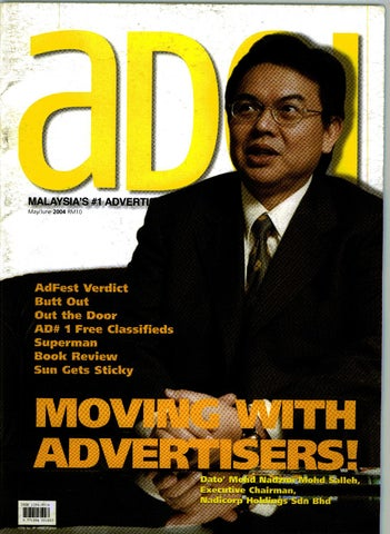 Adoi Malaysia 2004 May-June Issue by Sledgehammer