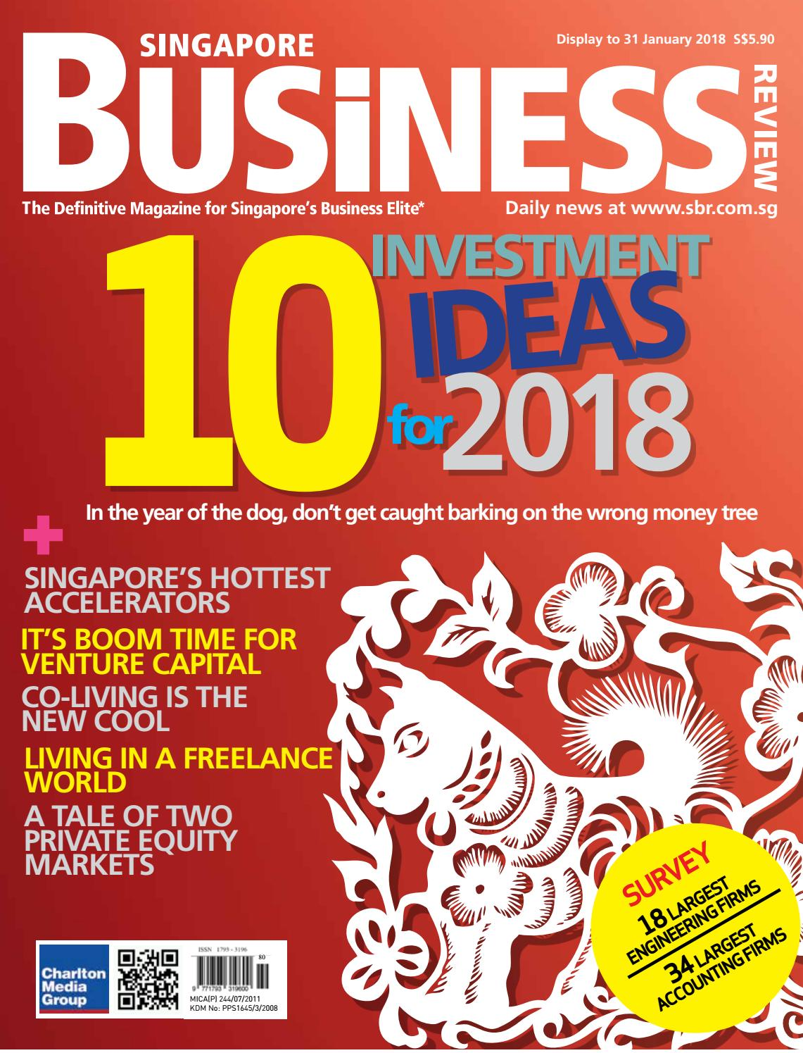 Singapore Business Review (December 2017 - January 2018) by Charlton