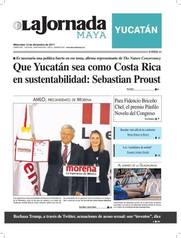 2aa562c0b La jornada maya · miércoles 13 de diciembre de 2017 by La Jornada ...