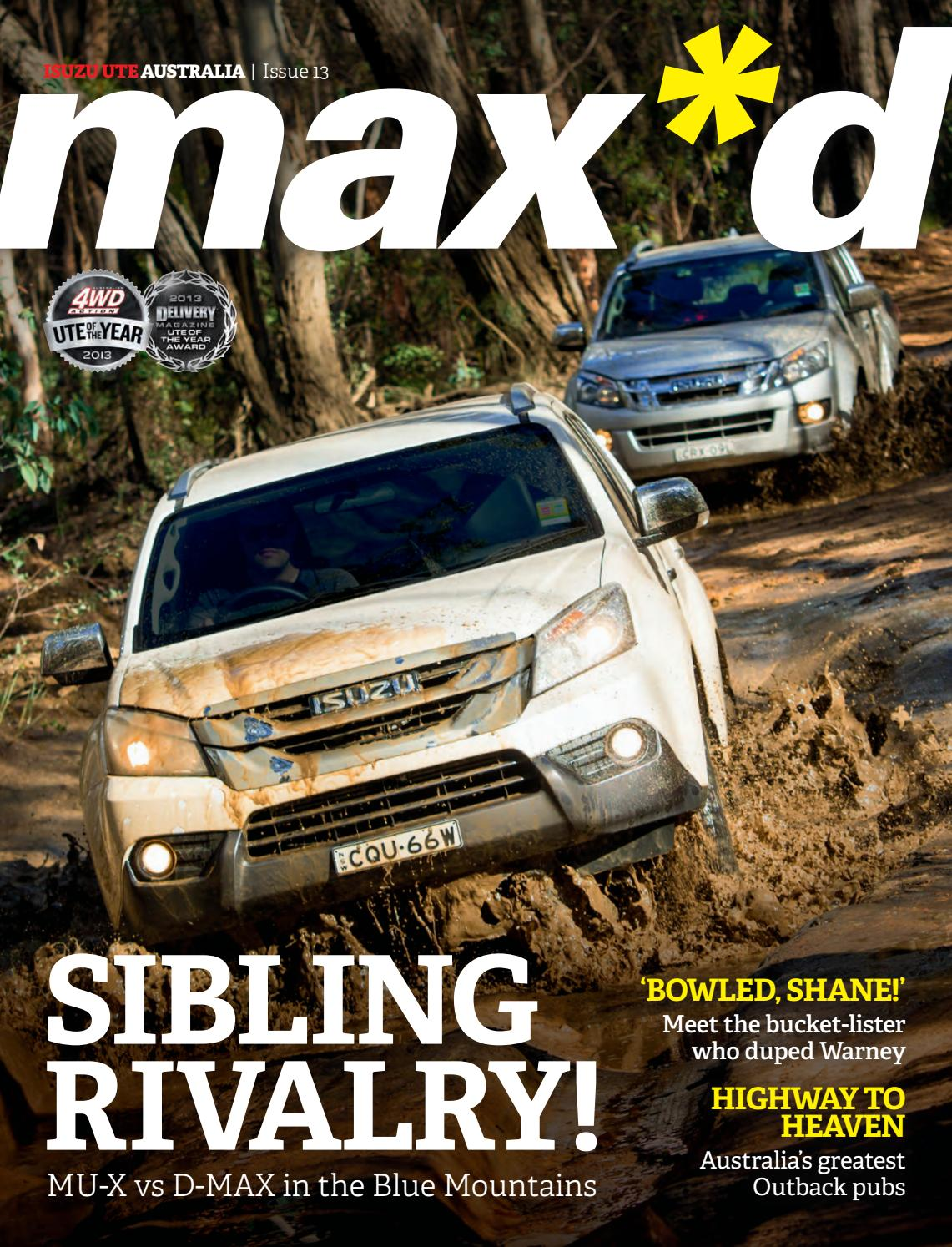 Maxd Stock Quote Max*d Issue 19Isuzu Ute Australia  Issuu