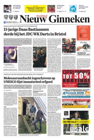 Weekblad Nieuw Ginneken 13 12 2017 By Uitgeverij Em De Jong Issuu