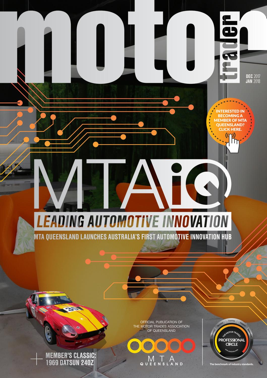 Motor trader e-magazine Dec 2017 to Jan 2018 by MTAQ IT - issuu