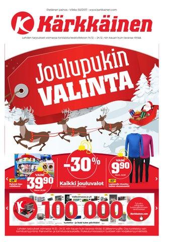 Kärkkäisen mainos (50 2017) (E) by Tavaratalo J. Kärkkäinen Oy - issuu 849da4e69e