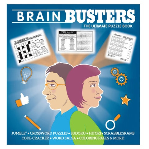 Brain Busters Puzzle Book by Lee Central Coast Newspapers