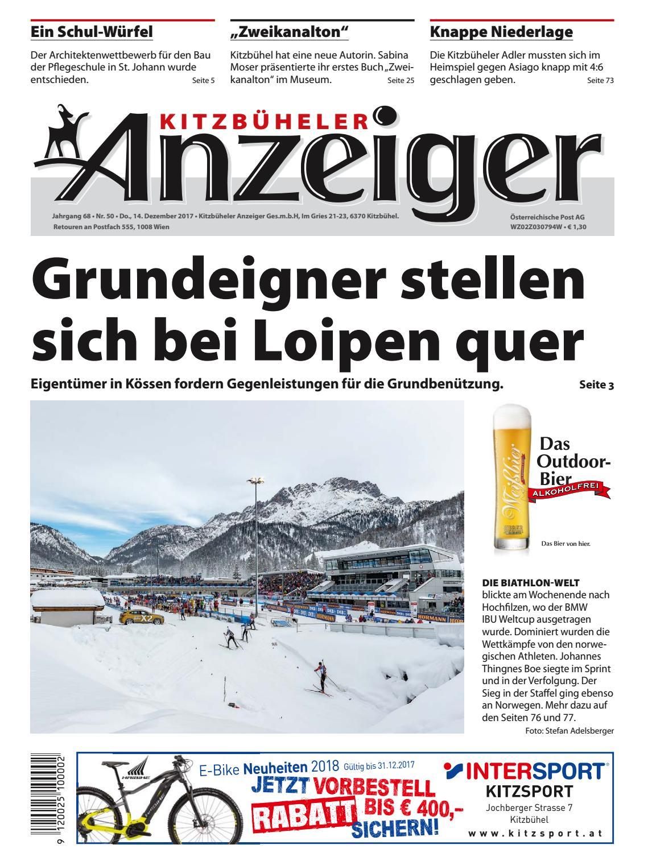 Kitzbüheler Anzeiger KW 50 2017 by kitzanzeiger - issuu