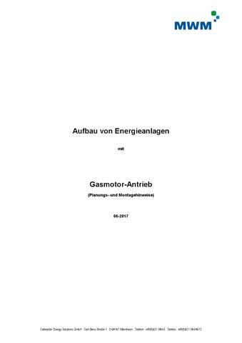 Aufbau von Energieanlagen by MWM Gas Engines / Gasmotoren - issuu