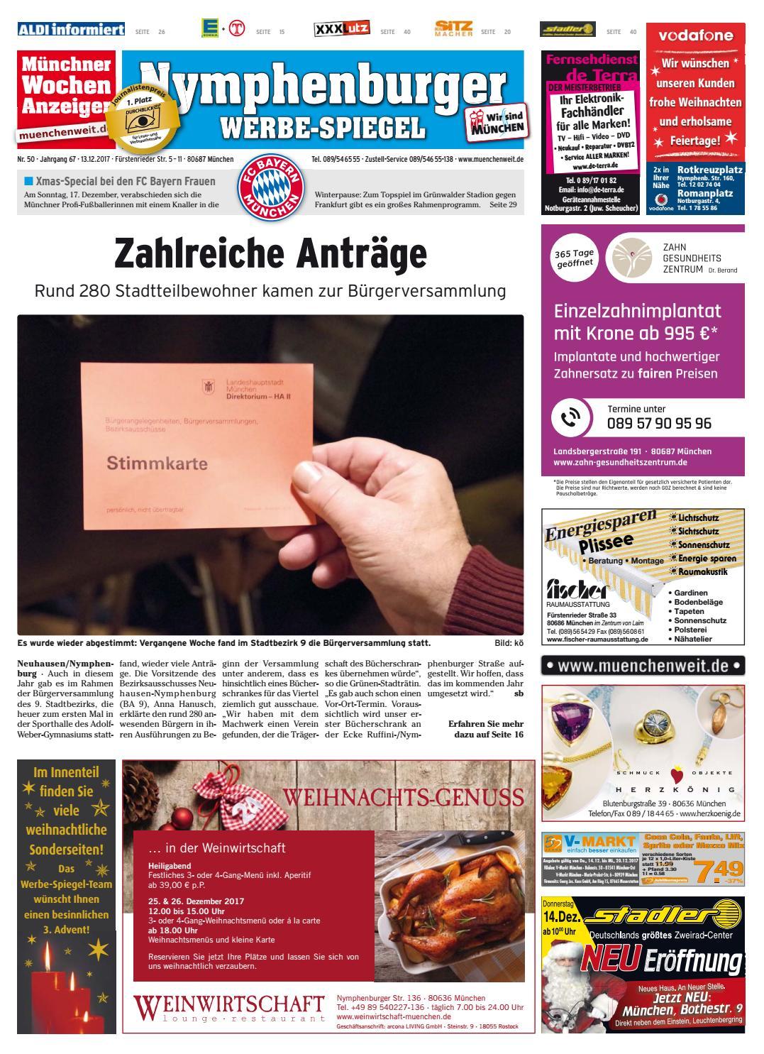 KW 50-2017 by Wochenanzeiger Medien GmbH - issuu