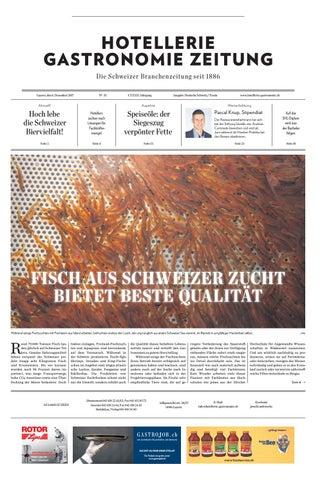 HG-Zeitung 35/2017 by Hotellerie_Gastronomie_Verlag - issuu